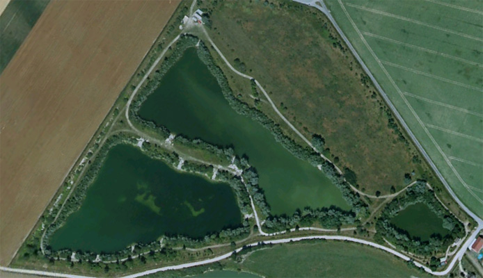 Les Etangs de La Croix Blanche Carp Fishing Lake France