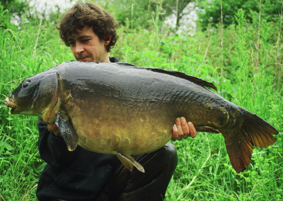 Terry Hearn Carp Fishing Nutsey Fish